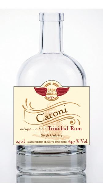 Cask Angels CARONI Rum 64,7 % Vol Trinidad